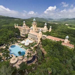Aerial View of Sun City resort
